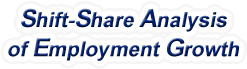 Shift-Share Analysis of Mississippi Employment Growth and Shift Share Analysis Tools for Mississippi